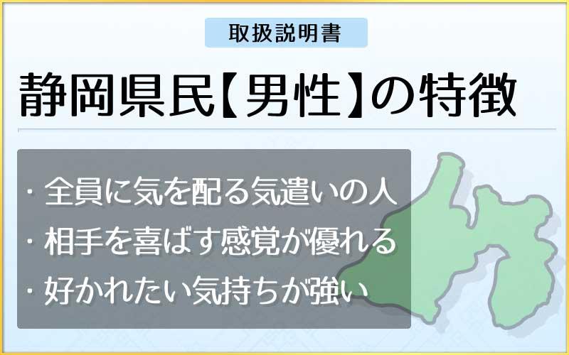 県民性占い-静岡県民【男性】のメインページ