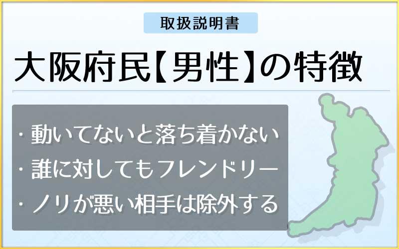 県民性占い-大阪府民【男性】のメインページ