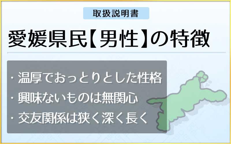 県民性占い-愛媛県民【男性】のメインページ